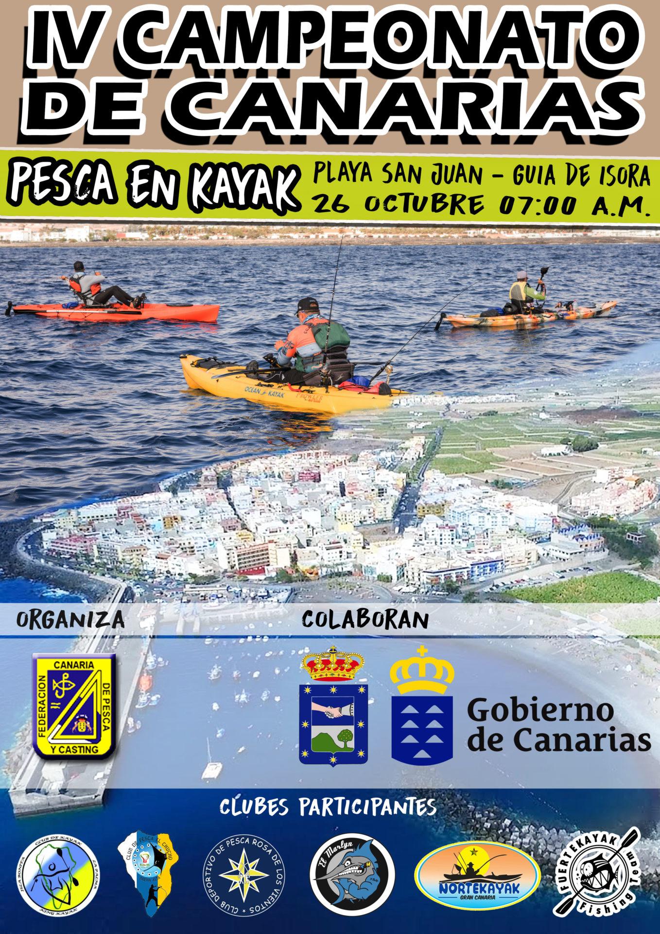 IV Campeonato de Canarias – Pesca en Kayak
